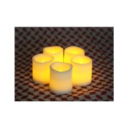 plastic votive candle