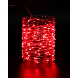 LED string light with transformer